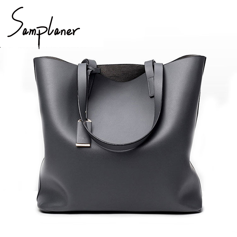Simple Bucket Bag For Women Shoulder Bags PU Leather Luxury Brand Handbags For Ladies Top-handle Bags Women's Tote Mujer Bolsa women bucket bag package fashion bolsa feminina casual soft clutch ladies leather shoulder bags tote messenger bolso mujer 2017
