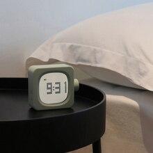 Мини рабочий день Повтор Будильник, благотворительный ночник путешествия Кемпинг настольные часы с регулируемой спинкой самостоятельно