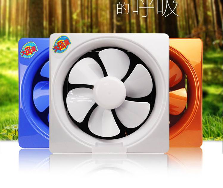 Fan   window   kitchen fume exhaust fan  mute shutter Blower