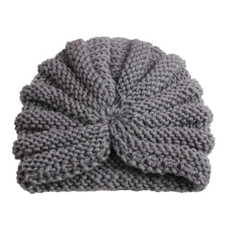 1pc filles garçons casquette perles tricotées forme de fleur doux respirant en plein air automne hiver chaud chapeau livraison directe nouveau