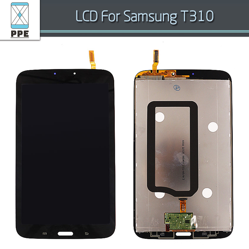 LCD Screen For Samsung Galaxy Tab 3 8.0 SM-T310 T310 Original LCD Display Touch Screen Digitizer Replacement free Tools
