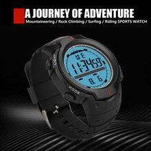 купить Casual Sports Round LED Watch Military Retro Display Date Quartz Watch Electronics Men Clock Wristwatch Relogio Masculino дешево