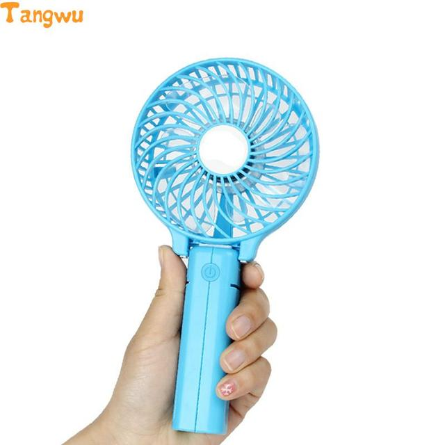 Portable Handheld Fan : Free shipping outdoor rechargeable usb mini fan portable