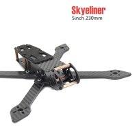 Skyeliner 5 inç 230mm 230 5 gerçek X freze kolları quadcopter drone çerçeve kiti