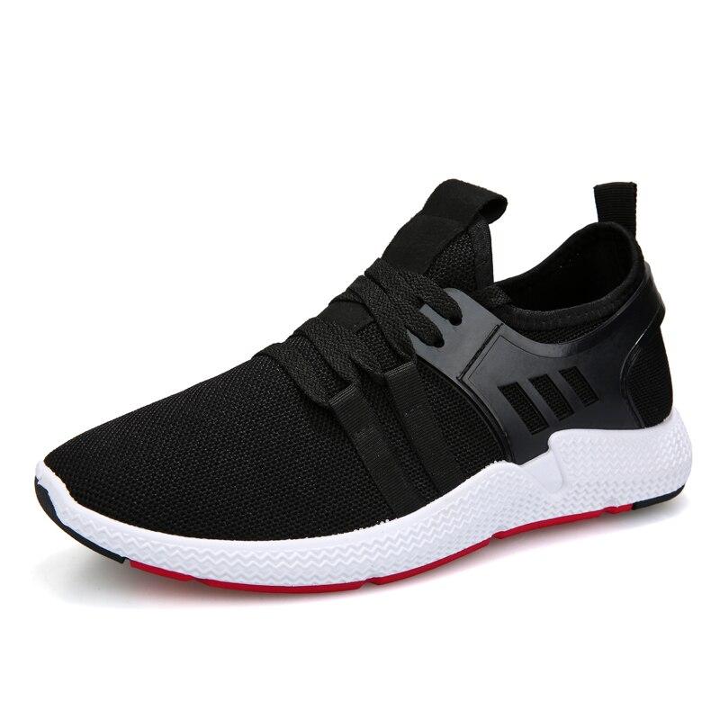 Meilleures Mode Sneakers Hommes Nouvelle Mesh Up 2018 Noir Air De Style White Casual Lace En Ventes Low Chaussures Promotion Marche Plein black Zyyzym qcYwdtIt