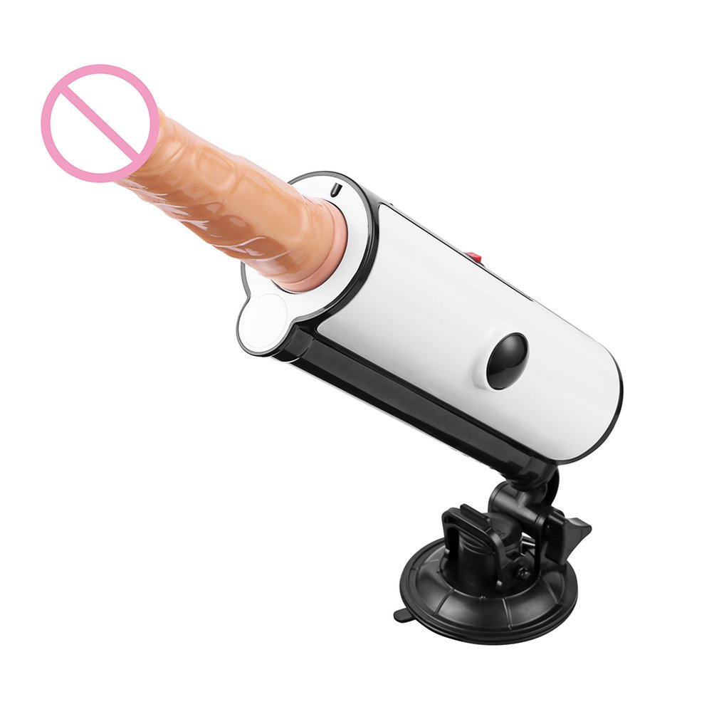 Automatic Vibrator Gun <font><b>Machine</b></font> with 2 <font><b>Dildos</b></font> Pumping Gun Thrusting Speed Adjustable <font><b>Sex</b></font> <font><b>Machine</b></font> for Women Men Masturbation image