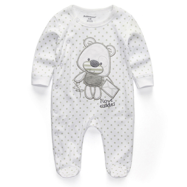 09742db00567 Товар Baby Clothing 2018 New Newborn jumpsuits Baby Boy Girl Romper ...
