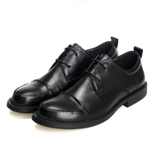 Genuine Leather men casual Shoes business soft Bottom designer shoes high quality Lace-Up Business Men Shoes,Men Dress