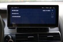 """10.25 """"android 8.0 dello schermo di 8 core premium sistema di navigazione gps per auto per Audi A6 A6L 2006 stereo phonelink bluetooth radio del dispositivo"""