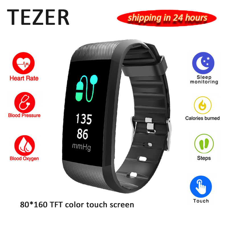 2018 Original Tezer R11 smart bracelet heart rate blood pressure monitor fitness tracker wireless bluetooth smart wristband gold woman evening bag women diamond rhinestone clutch crystal chain shoulder small purse gold wedding purse party evening bags page 4