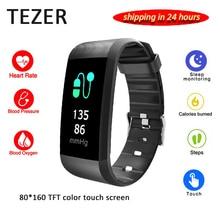 2018 D'origine Tezer R11 smart bracelet coeur taux sang pression moniteur fitness tracker sans fil bluetooth bracelet à puce