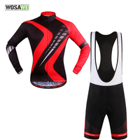WOSAWE 2017 Long Sleeve Cycling Clothing Summer Anti UV Bike Jersey Ciclismo Ropa Quick Dry Breathable