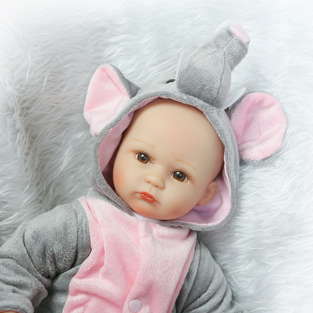 40cm Silicone Reborn Babies Dolls Toys Lovely
