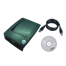 China produces FDX-B 125KHZ T5577/T5557  read-write machine, USB port  the English version of  software+10p card цены