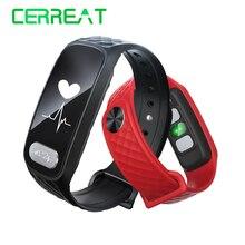 Cerreat B20 сердечного ритма Приборы для измерения артериального давления nonitor Bluetooth Смарт часы Фитнес Браслет Смарт трекер