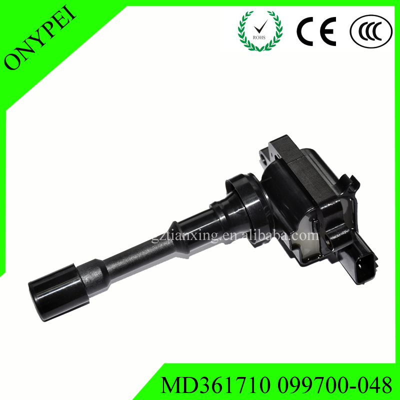 High Quality 099700-048 MD361710 Ignition Coil For Mitsubishi Space Star Lancer 1.6 Mirage V 1.3 4Cyl 099700048High Quality 099700-048 MD361710 Ignition Coil For Mitsubishi Space Star Lancer 1.6 Mirage V 1.3 4Cyl 099700048