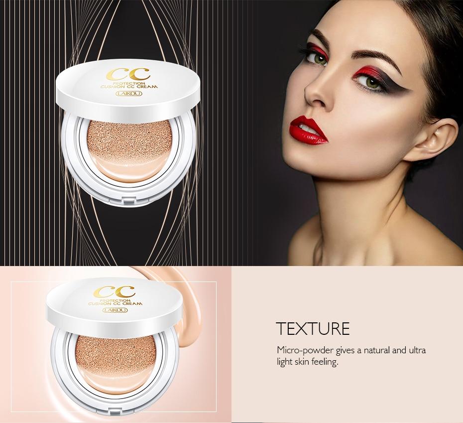 Солнцезащитный крем на воздушной подушке BB CC Крем-корректор увлажняющий тональный крем отбеливающий макияж голый для лица красивый макияж корейская косметика