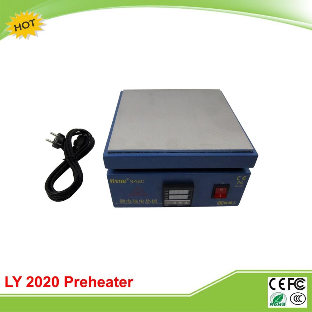 LY 2020 preheating station 220V/110V 850W hot plate preheater reballing oven
