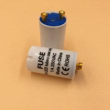 25 шт./лот заводской прямой светодиодный стартер для led t8 трубки предохранитель стартер CE Rohs лампа стартер светодиодной трубки