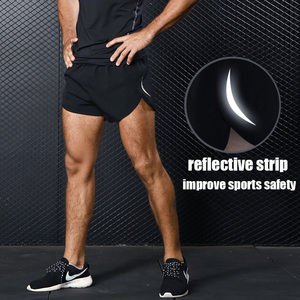 Image 2 - Mens Sports Running Shorts Training Exercise Jogging Short Pants 2 in 1 Marathon Shorts Man Short Sport Short Deportivo Hombre