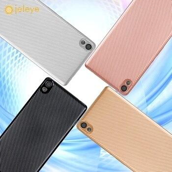 Ojeleye caja del teléfono móvil para Sony Xperia XA Ultra cubierta Dual F3212 F3216 F3211 F3215 F3213 C6 carbón de TPU fibra bolsa Shell