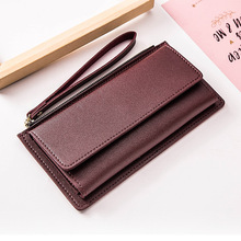 Fashion Long Women Wallets High Quality PU Leather Women's Purse Wallet Zipper Clutch Female Card Holder hasp Purses Coin Pocket