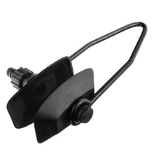 Single Feed Rectangular Water Universal Black Marine Boat Durable Motor Flusher Ear Muffs Rubber Yacht Outboard Engine