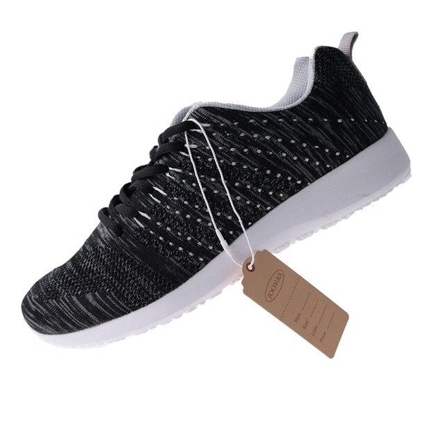 Joomra Men Sneaker Running Shoes Lightweight Sneakers Breathable Mesh Sports Shoes Jogging Footwear Walking Athletics Shoes