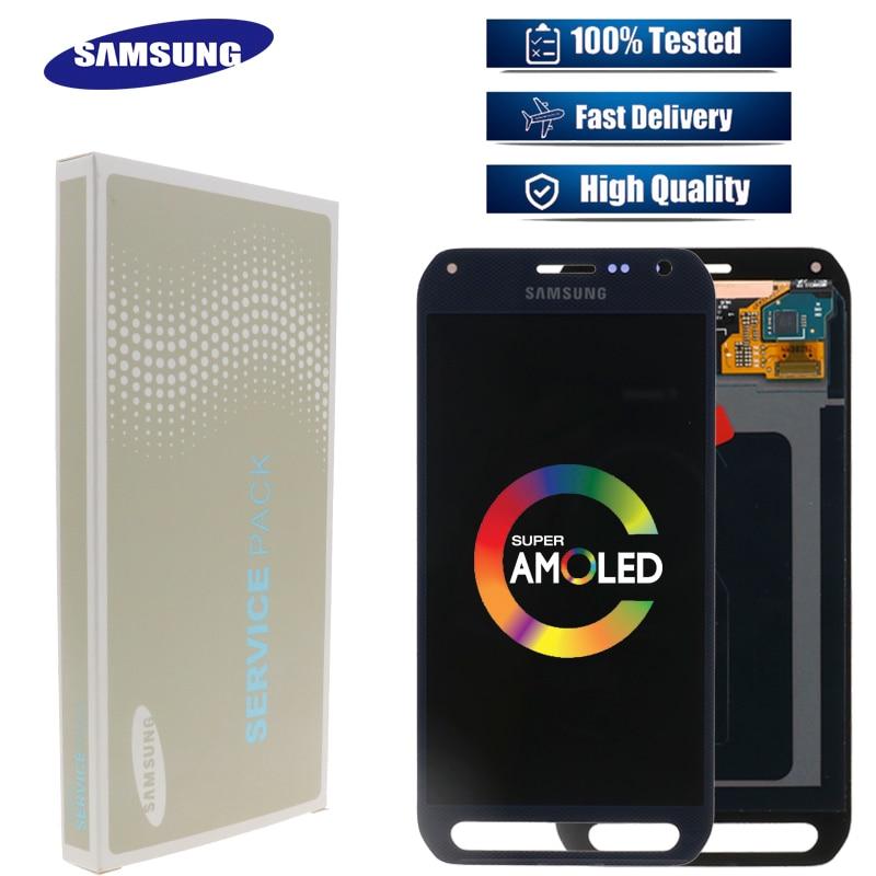 Oryginalny Super AMOLED5.1 ''LCD zastępuje Samsung Galaxy S6 aktywnych G890 G890A Monitor LCD + ekran dotykowy Digitizer części w Ekrany LCD do tel. komórkowych od Telefony komórkowe i telekomunikacja na AliExpress - 11.11_Double 11Singles' Day 1