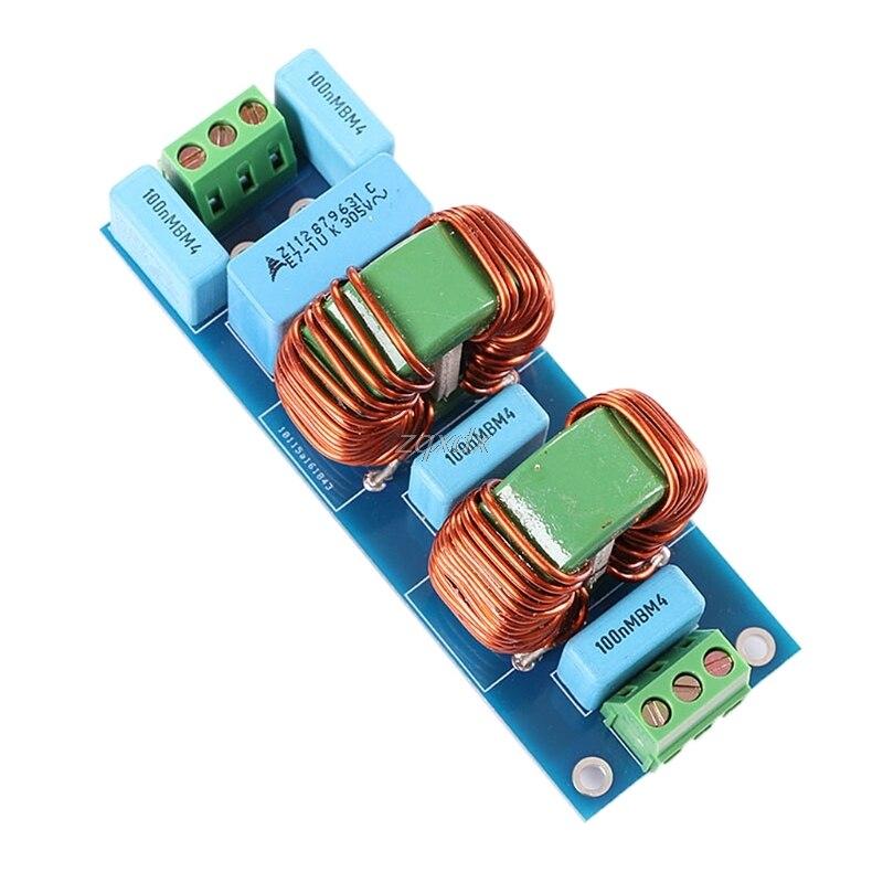 Kits de bricolage de panneau de filtre de puissance à haute fréquence de 3900W EMI 18A pour l'amplificateur de haut-parleur Z07 livraison directe