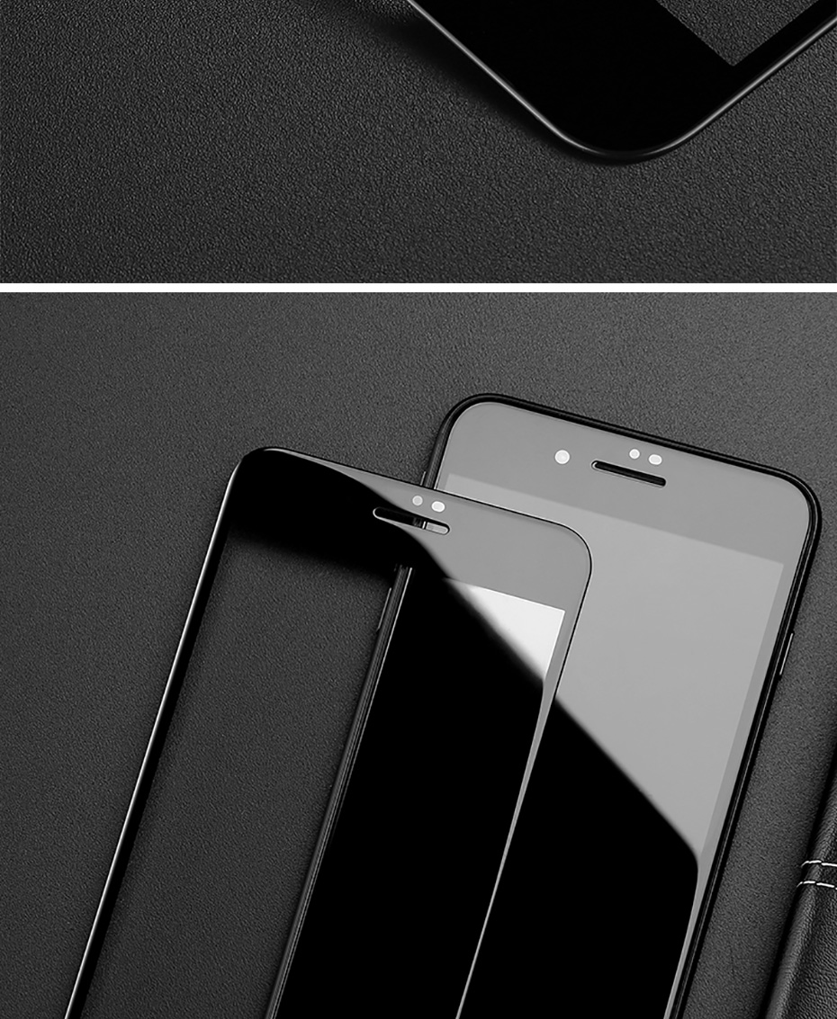 5D Tempered Glass For iPhone XS XR XS MAX Screen Protector Cover For iPhone 8 X 7 6 6S Plus Screen Protector Cover Case (7)