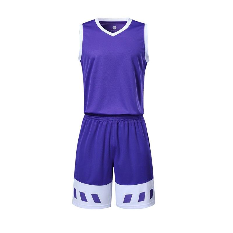 Men's Cheap College Basketball Sets Men Blank Jerseys Shorts Adult Running Uniforms Sports Kits Customize Any Logos