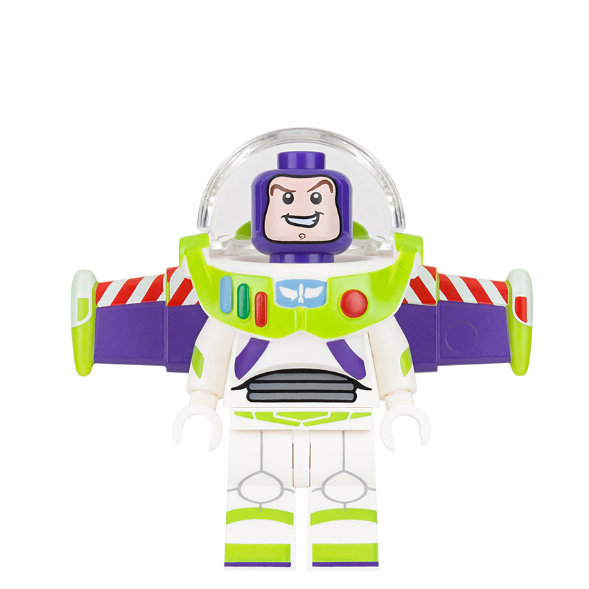 Building Blocks Buzz Lightyear Marvel Super Heroes Star Wars Set Model Action Bricks Kids DIY Toys Hobbies PG1030 Figures stylish scoop neck sleeveless spliced hollow out women s dress
