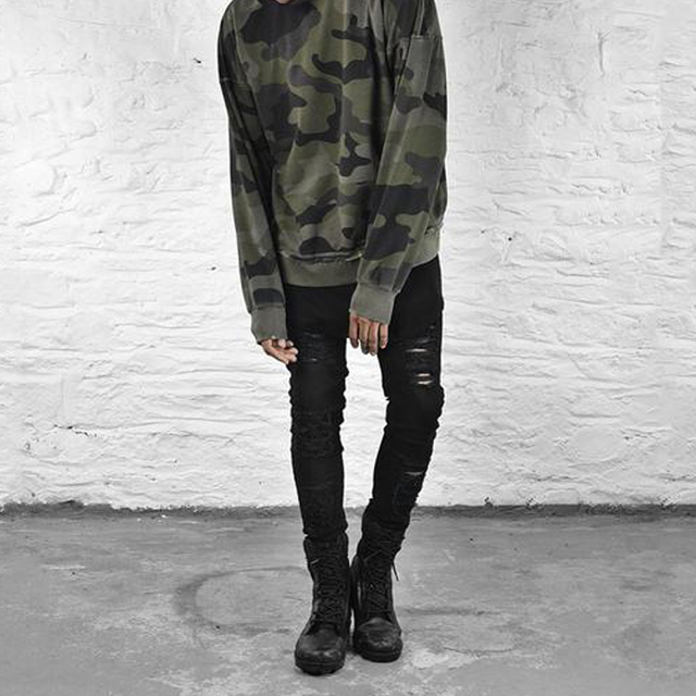 Supper Ripped Jeans For Men  2
