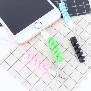 Earphones Accessories Mini USB Charger Cable For Huwei P20 Lite P Smart For Apple Iphone 5 5S SE 6 6S 7 8 Plus X XR XS Max Cases image
