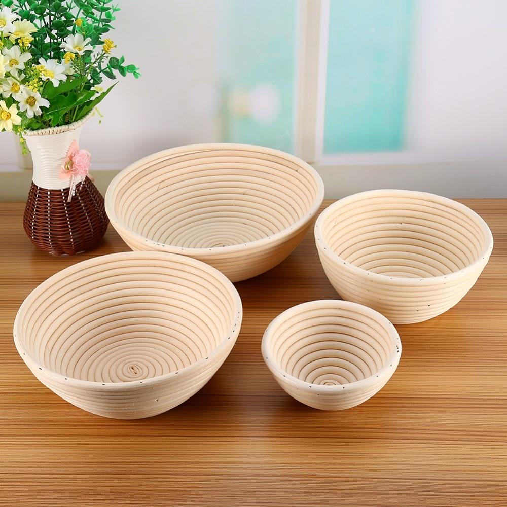 Best Handmade Baskets : Best price round long banneton bortform bread dough