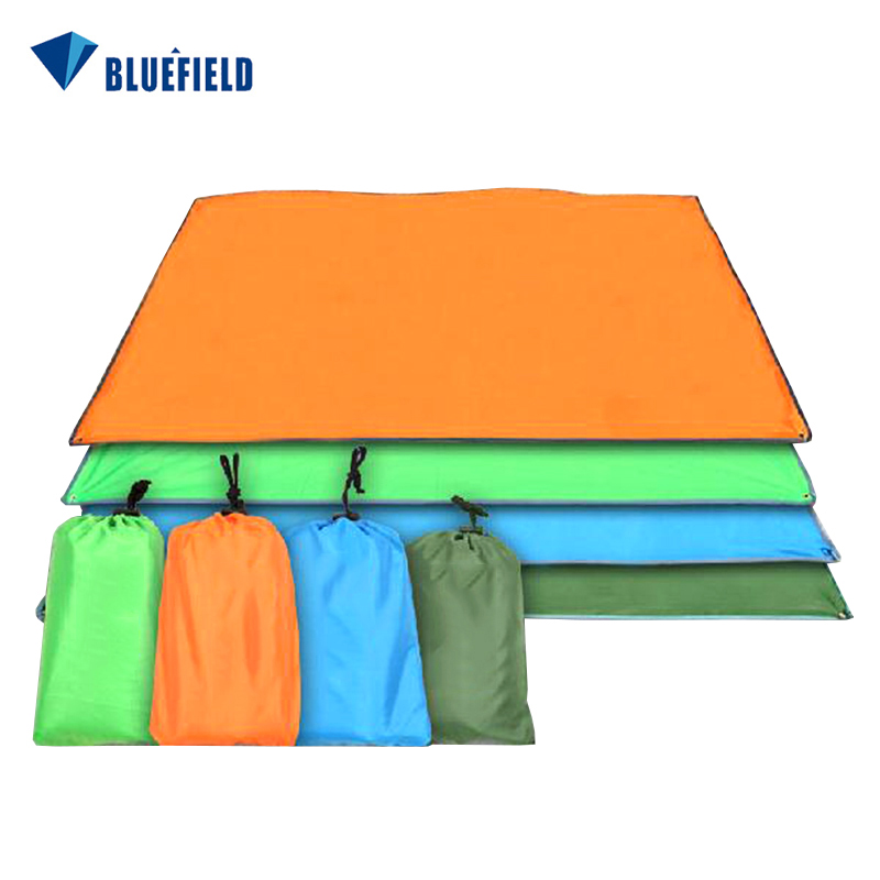цена на Outdoor Sun Shelter Footprint Waterproof Camping Mat Ultralight Tarp Pergola Oxford Beach Mat Awning Canopy Picnic Blanket