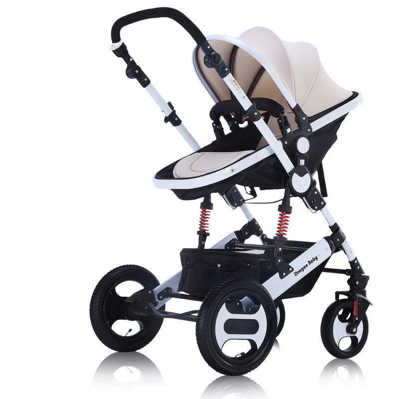 Baby stroller can sit and lay shock absorber folding ultra light portable summer bb baby child child high landscape trolley baby stroller ultra light portable shock absorbers bb child summer baby hadnd car umbrella