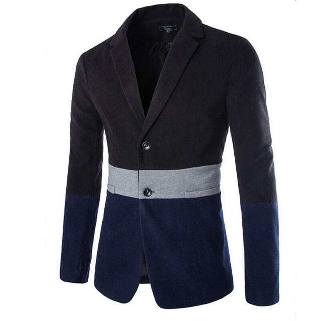 New Arrivals From Men's Fashion High-Grade Pure Cotton Men Suit Jacket Mens Long Blazers Mens Blazer Jacket Mens Blazer Jacket