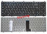 RU russa Teclado para DNS Clevo W650EH W650SRH W650 W655 W650SR W650SC R650SJ W6500 W650SJ w655sc w650sh MP-12N76SU-430 Preto