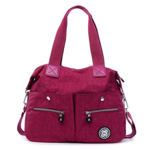 Frauen Messenger Bags Hochwertigen Reißverschluss Nylon Handtasche Lässig Schulter Taschen Umhängetaschen Frau Tote Bolsa Feminina