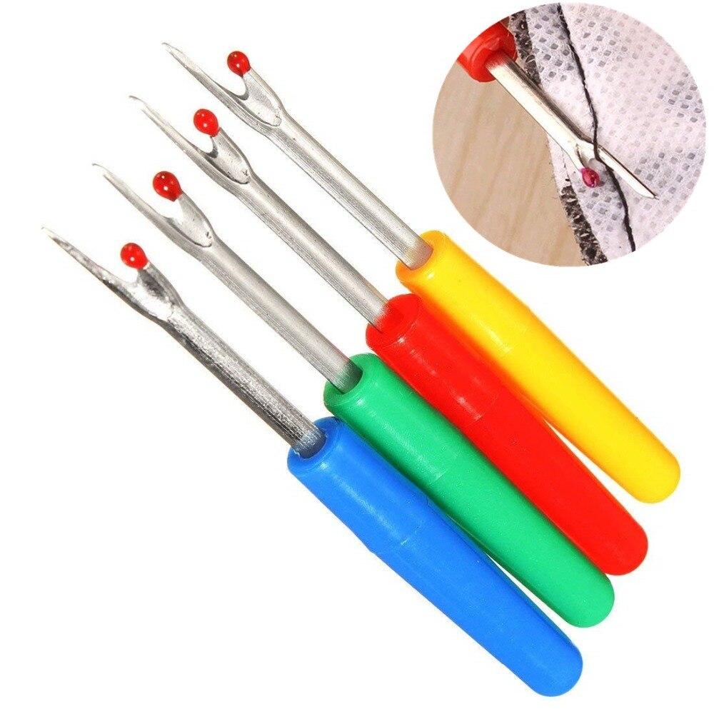 4 шт. пластиковая ручка ремесло резец резьбы шов рыхлитель стежка Unpicker швейный инструмент Аксессуары для шитья BB5544