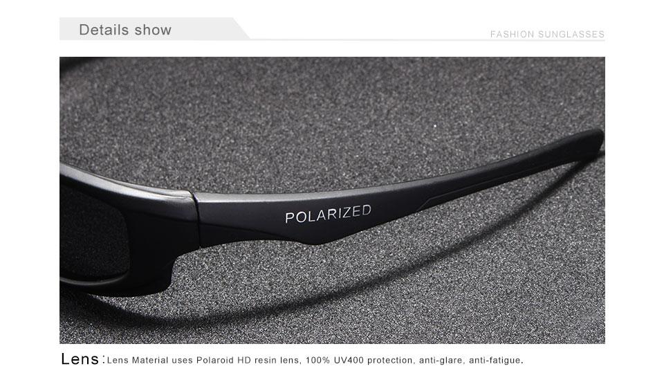 KINGSEVEN 2019 Brand Design Polarized Sunglasses Men Driving Shades Male Sun Glasses For Men  Mirror Goggle UV400 Oculos