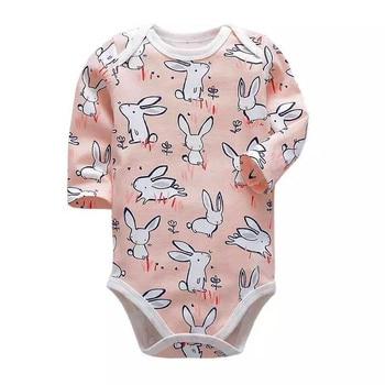 Tender Babies 2019 Newborn Baby Boys Girls Fashion Clothes Cotton Long Sleeve Bodysuit