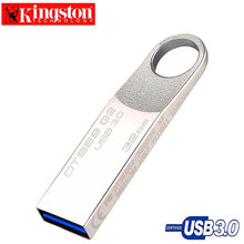 Kingston USB Flash Drive 32GB USB Three.zero Pen Drive Metallic U Stick Reminiscence Disk Customized Emblem cle usb Flash Memoria 32gb usb3.zero Pendrive