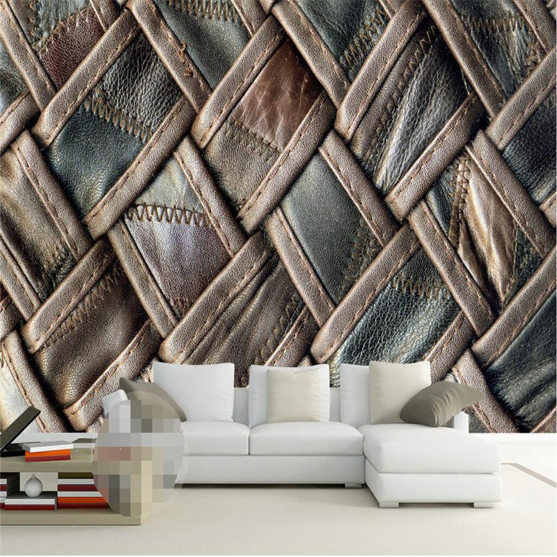 Mural Wallpapers Home Decor Photo Background Wall Paper Photography Color  Lines Of Glass Mosaic Hotel Bathroom