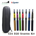 E-XY eGo CE4 e Cigarette Zipper Case eGo Kits 1.6ml Atomizer 650mah 900/1100/1300mAh ego t Battery CE4 Vape Electronic Cigarette