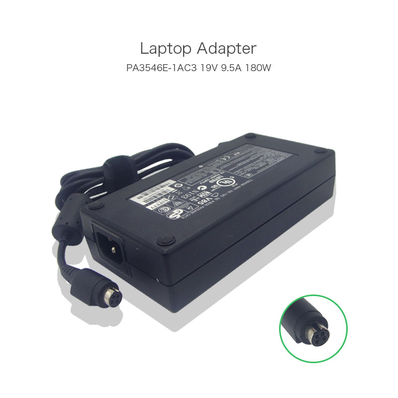 100% Original 19V 9.5A 180W Laptop Power Charger for Toshiba Satellite QOSMIO X75 X770 X505 PA3546E-1AC3 AC Adapter high quality 14 4v 63wh pa3928u 1brs battery for toshiba qosmio x770 3d x770 107 x770 11c pabas248
