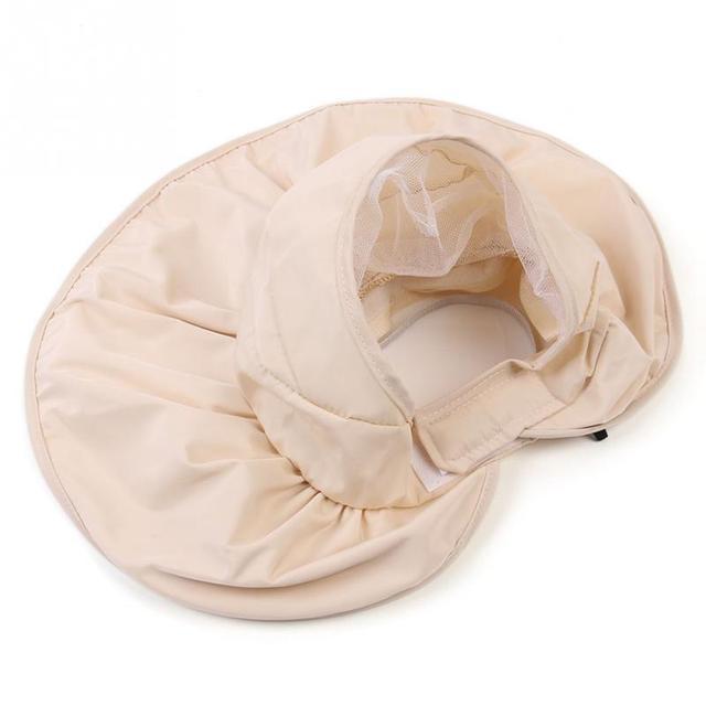 LOVIW Hot vogue Mujeres Al Aire Libre Sol Sombrero Plegable Multifunción Ajustable Verano