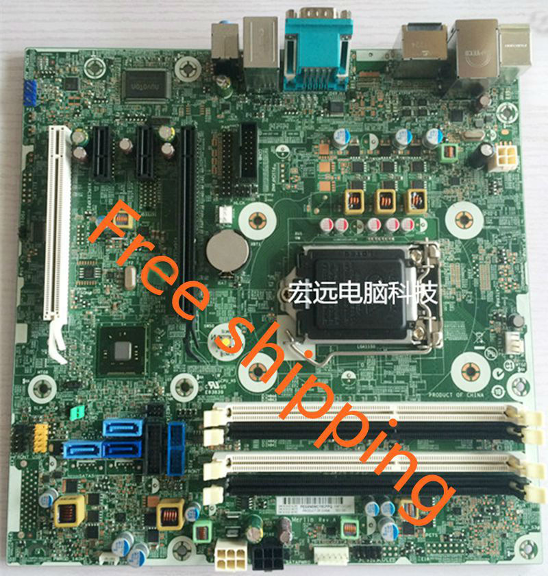 US $80 84 6% OFF|796108 001 For HP EliteDesk 800 G1 SFF Desktop Motherboard  696549 003 LG1150 Mainboard 100%tested fully work-in Motherboards from